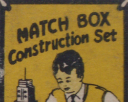 Logo Match Box